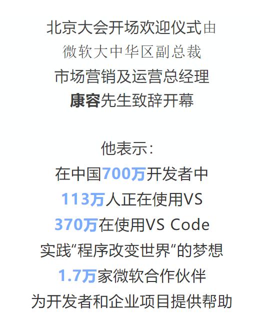中国 700 万开发者中,370 万在使用 VS Code