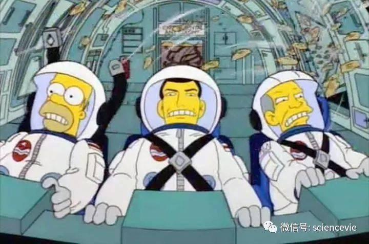原来动画《辛普森一家》中有那么多大科学?