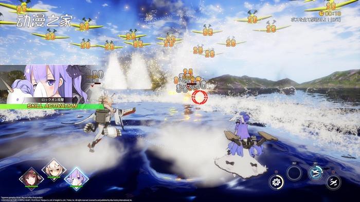 游戏《碧蓝航线Crosswave》的Steam版2020年春发售