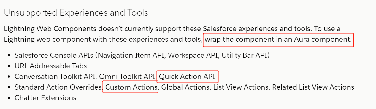 Salesforce LWC学习(九) Quick Action in LWC