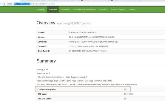大数据(2)---HDFS集群搭建