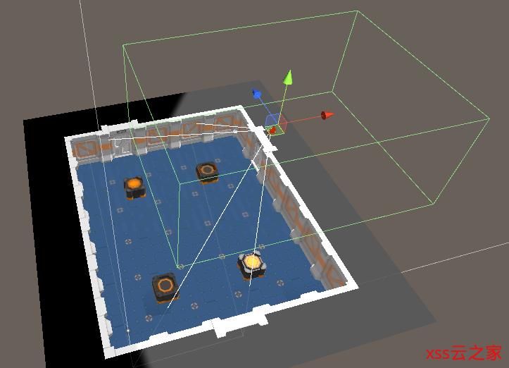 Unity 基于Cinemachine计算透视摄像机在地图中的移动范围