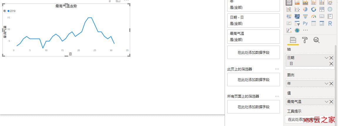 一步一步教你PowerBI利用爬虫获取天气数据分析