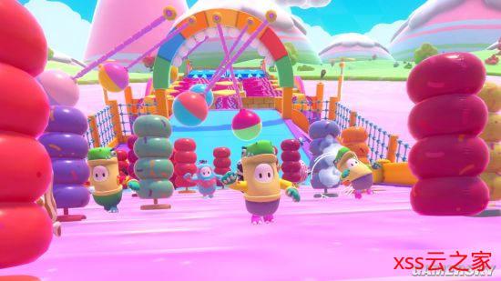 《糖豆人:最终淘汰赛》在线用户达12万 官方示意会升级服务器