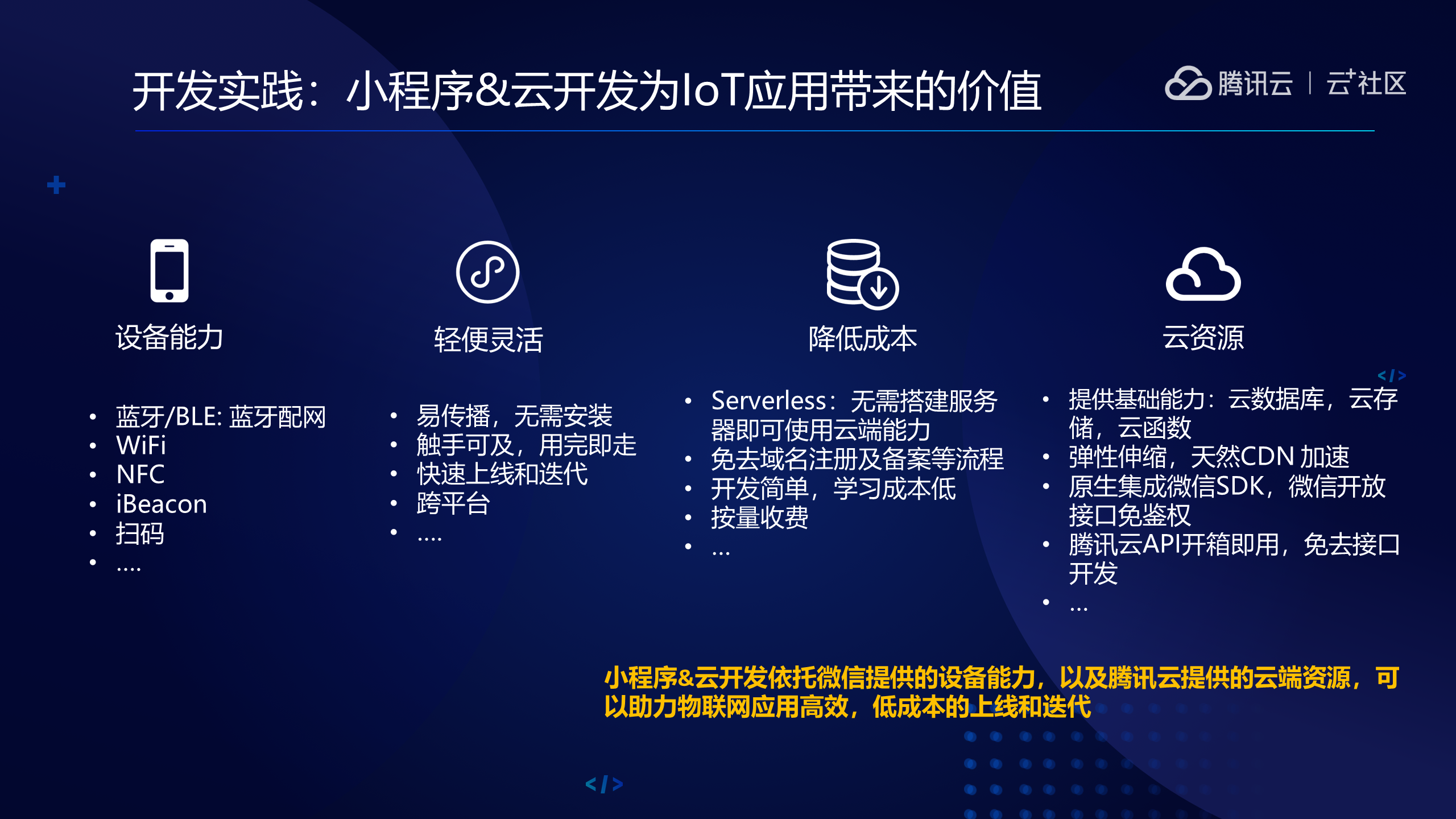 如何基于TencentOS tiny,快速打造属于自己的IoT小应用?