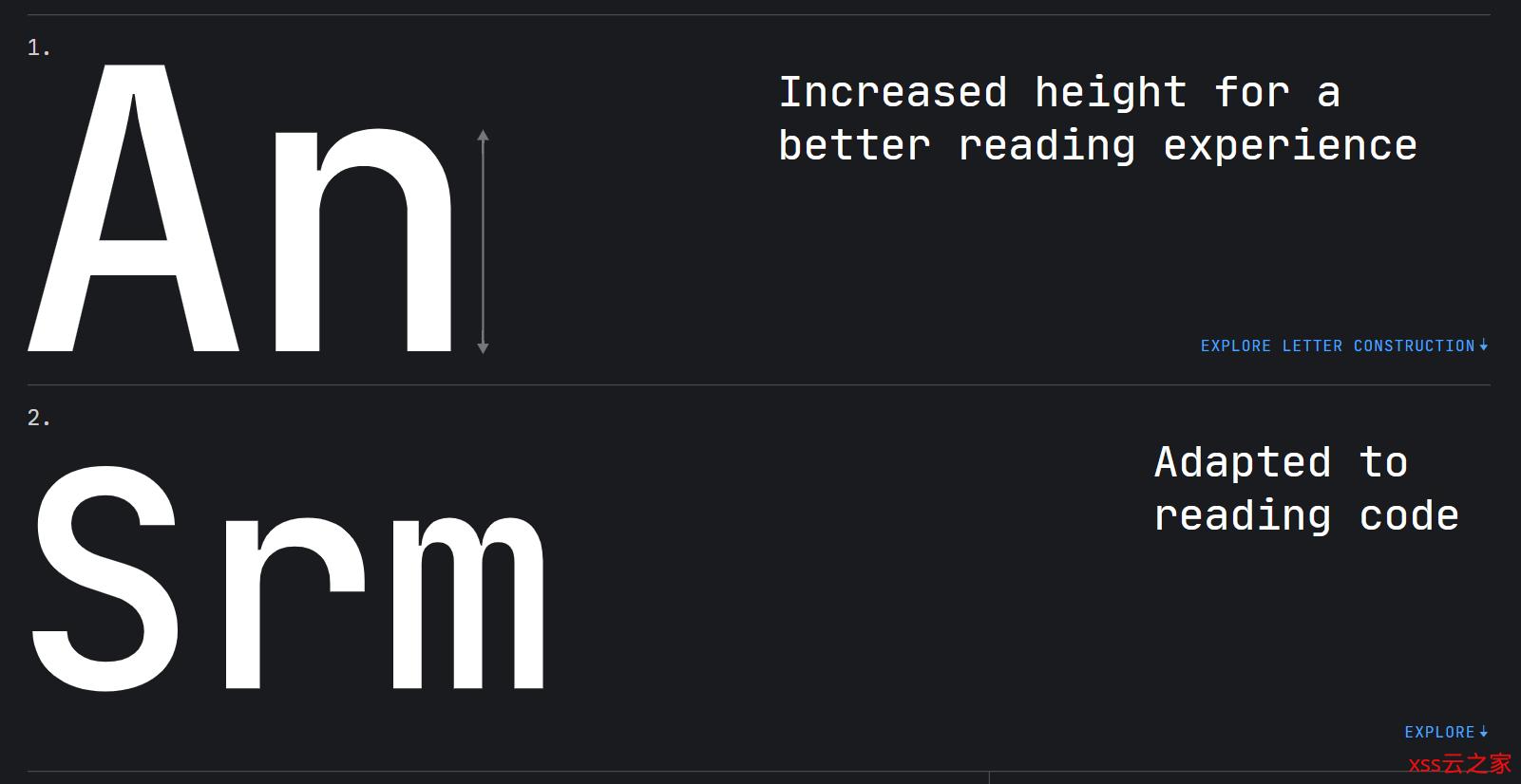 IDEA 公司推出新字体,极度舒适~