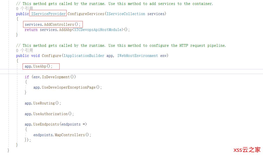 Asp.Net Core 3.1 Api 集成Abp项目依赖注入