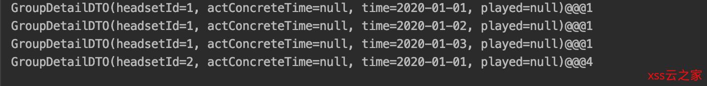 java8 stream自定义分组求和并排序