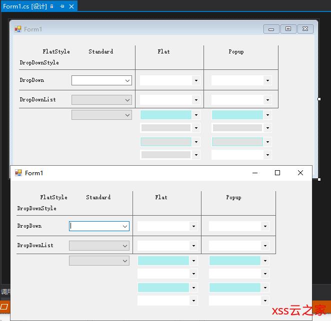 C#.Net ComboBox控件设置DropDownList之后背景颜色问题,以及发现的微软的一个BUG