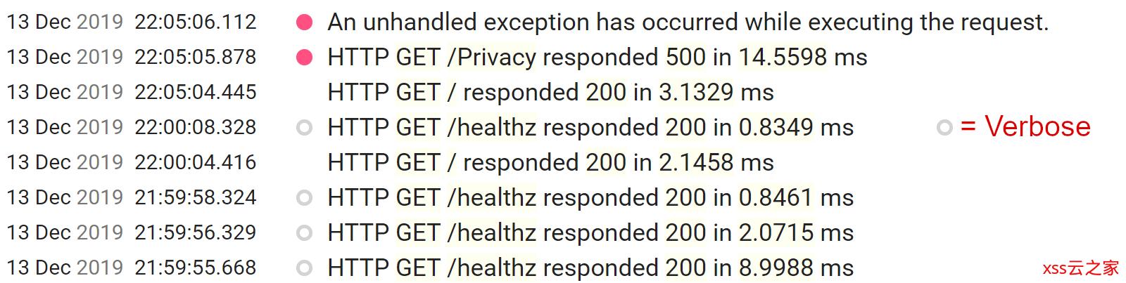 如何从Serilog请求日志记录中排除健康检查终结点