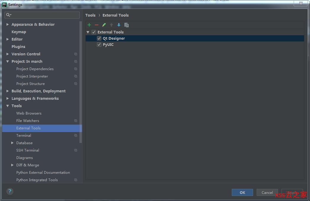 在python开发工具PyCharm中搭建QtPy环境(详细)
