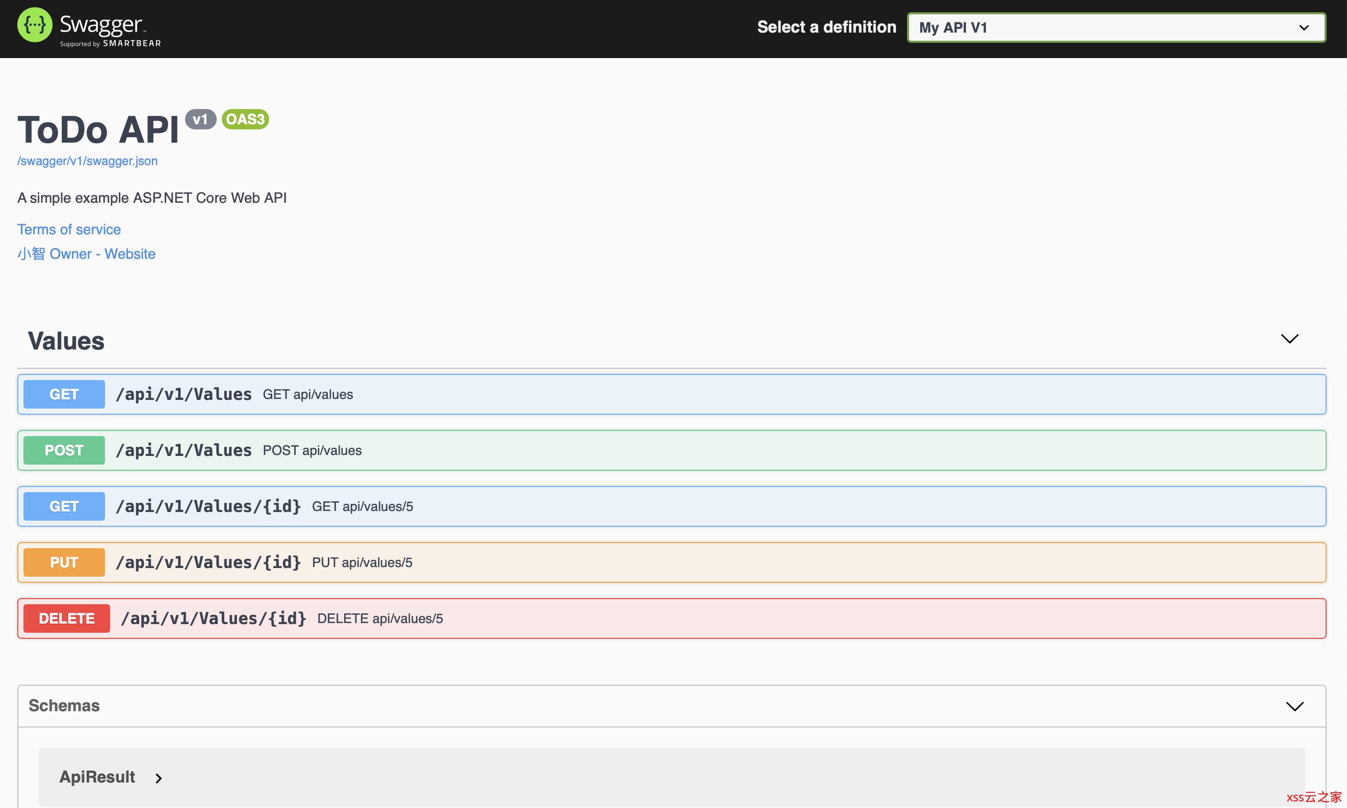 WebAPI接口开发实践