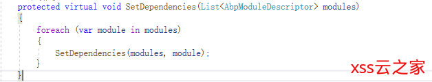 abp vnext2.0之核心组件模块加载系统源码解析与简单应用