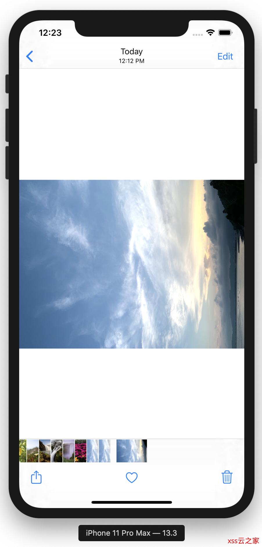 iOS开发tip-图片方向