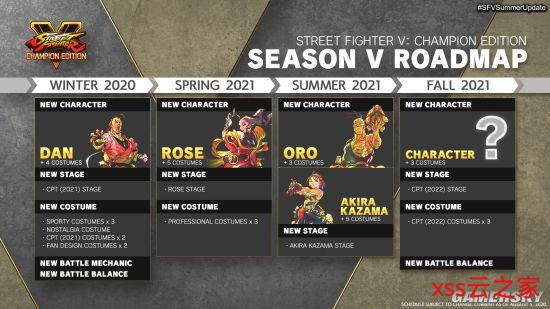 《街霸5》第五季新角色公然 火引丹、萝丝将上台插图