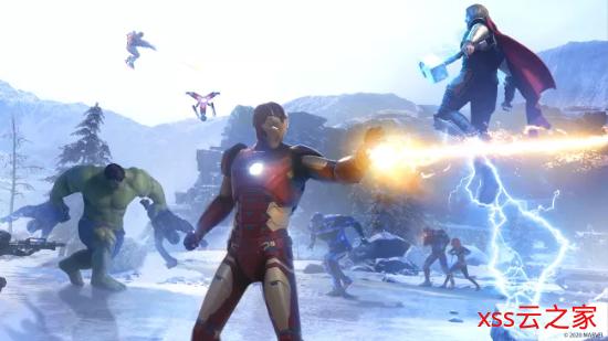 《漫威复仇者联盟》战区任务演示:英雄协力应对挑战