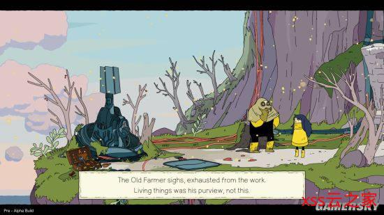 精美横版手绘风游戏《Minute of Islands》新预告片 卡通版蒸汽朋克里的冒险时光