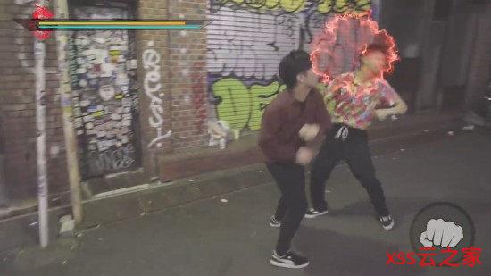 涩谷街头还原游戏场景第3弹 原宿街头大战混混