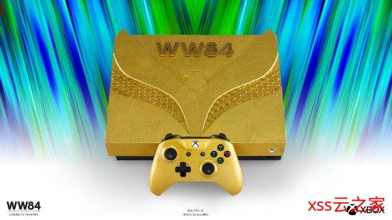 神奇女侠款Xbox One X亮相:奢华黄金性感豹纹 真言套索亮了