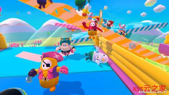 《糖豆人:最终淘汰赛》现在在线人数Steam排第四 多人乱斗其乐无穷插图(1)