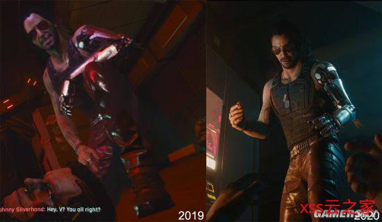 网友发对比图表示《赛博朋克2077》画面有进步 CDPR:仍在制作中插图(2)