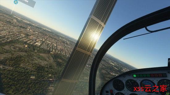 《微软飞行模拟》出现了212层高楼 外形就像通天塔