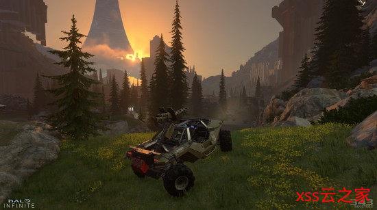 《光环:无限》并非完全的开放世界 但玩家可以重回区域探索插图(1)