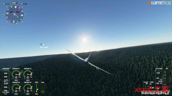 《微软飞行模拟》4K超高画质演示 波音客机低空杂耍
