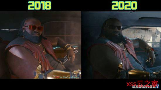网友发对比图表示《赛博朋克2077》画面有进步 CDPR:仍在制作中插图(4)