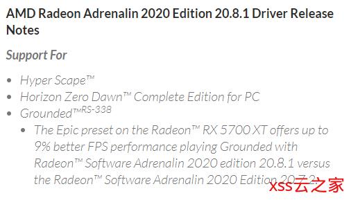 AMD驱动更新:针对《地平线:零之曙光》、《禁闭求生》、《超猎都会》优化插图(1)