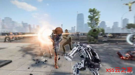 《漫威复仇者联盟》公布最新预告 现已开启PS4平台Beta测试插图(3)