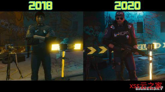 网友发对比图表示《赛博朋克2077》画面有进步 CDPR:仍在制作中插图(5)