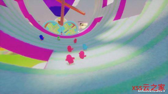 《Dreams》中制作《糖豆人:终极淘汰赛》关卡 呆萌可爱有内味了