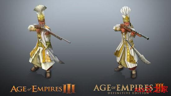 《帝国时代3:决定版》对比原版 画面进步肉眼可见插图(3)