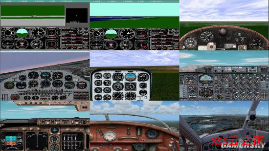 《微软飞行模拟》进化史:从黑白像素点到惊艳画质插图