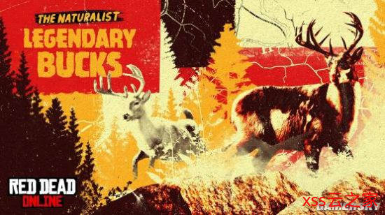 《荒野大镖客:救赎2》在线模式更新 新推出两种传说公鹿