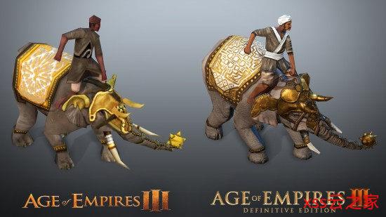 《帝国时代3:决定版》对比原版 画面进步肉眼可见插图