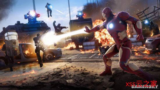 《漫威复仇者联盟》公布最新预告 现已开启PS4平台Beta测试插图