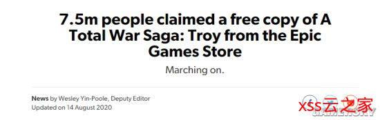 750万玩家免费领取《全面战争传奇:特洛伊》 CA欢迎新老玩家
