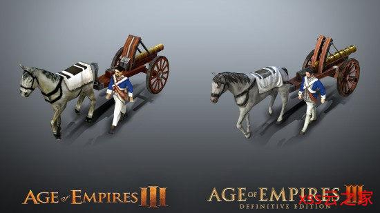 《帝国时代3:决定版》对比原版 画面进步肉眼可见插图(4)