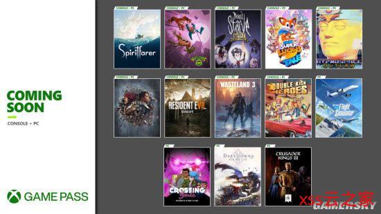 XGP新增13款游戏:《生化危机7》、《废土3》在列