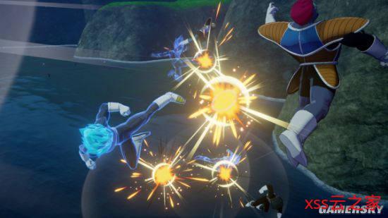 《龙珠Z:卡卡罗特》DLC截图 悟空贝吉塔觉醒新形态