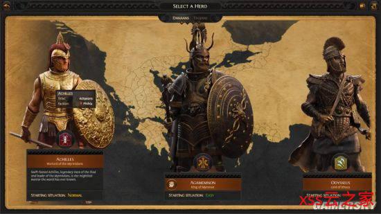 《全面战争传奇:特洛伊》宣布最新演示:引见希腊和特洛伊的好汉角色