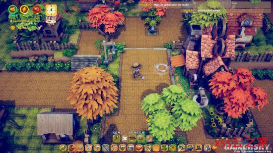 结合农场模拟和阵地防守《风之国》 8月11日发售、支持中文