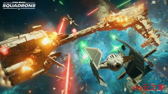 《星球大战:战机中队》船舰元件介绍 定制你的星际战机插图