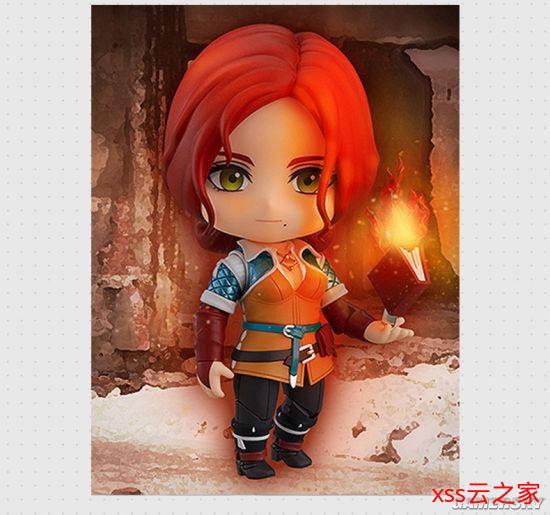 《巫师3:狂猎》特莉丝粘土着土偶游民商城预售 Q萌女巫来啦插图(3)