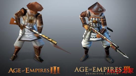 《帝国时代3:决定版》对比原版 画面进步肉眼可见插图(1)
