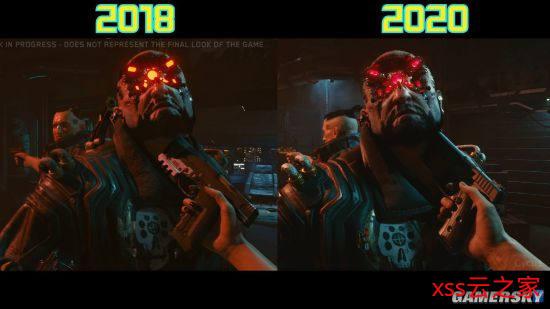 网友发对比图表示《赛博朋克2077》画面有进步 CDPR:仍在制作中插图(3)