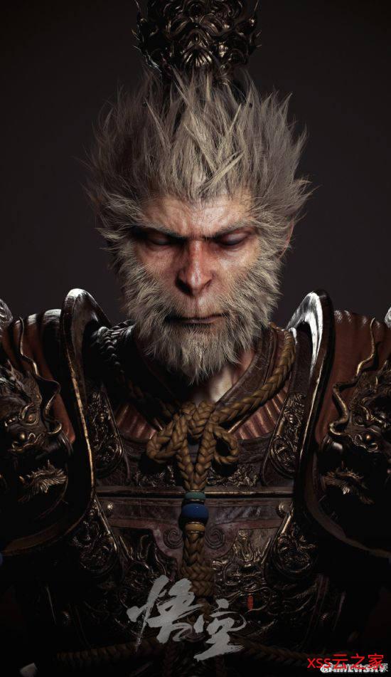 《黑神话:悟空》角色概念图&模型图 美猴王帅炸