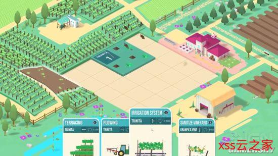 酒庄模拟经营游戏《百日》新预告 明年登陆NS/Steam